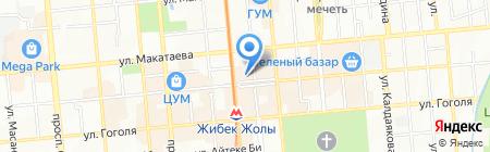 SHINOBI SUSHI на карте Алматы
