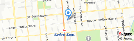 Блинная на карте Алматы