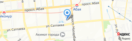 Нотариус Хан З.Н. на карте Алматы