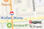 Схема проезда до компании Gloria jeans`s cofees в Алматы
