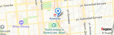 Зов Фасад на карте Алматы