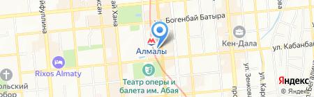 RedStarPro на карте Алматы