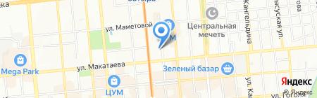 Золотые Звезды Алматы на карте Алматы