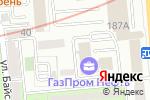 Схема проезда до компании Наше Время в Алматы