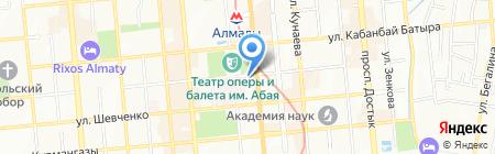 Сакура салон красоты на карте Алматы