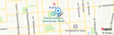 Atlas Tourism на карте Алматы