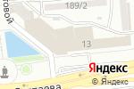 Схема проезда до компании Dkdesign в Алматы