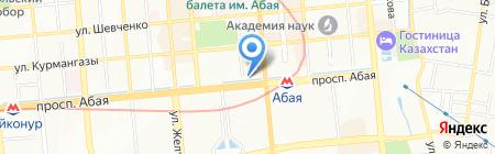 SPORTLINE на карте Алматы