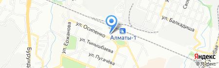 Жеты Жол на карте Алматы