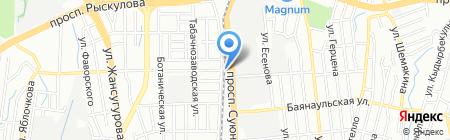 Виктория 95 на карте Алматы