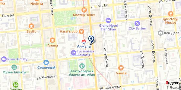 Legal Leadership, ТОО на карте Алматы