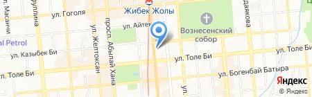 Лицей №28 им. М. Маметовой на карте Алматы