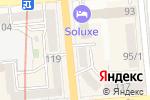 Схема проезда до компании Мастерская по ремонту часов и тонометров в Алматы