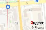 Схема проезда до компании HAN в Алматы