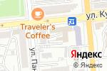 Схема проезда до компании AZ в Алматы