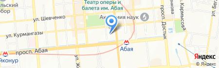 TOP PERSONAL на карте Алматы