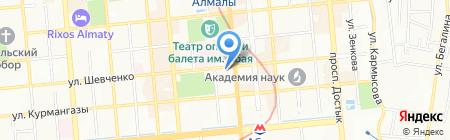 Baraka на карте Алматы