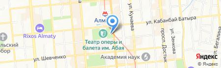 Persona Grata на карте Алматы