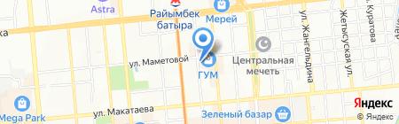 Premium Textile на карте Алматы