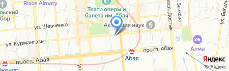Росиб ТОО на карте Алматы