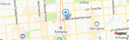 Fresco на карте Алматы