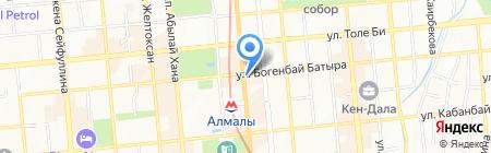 KRAVETS на карте Алматы