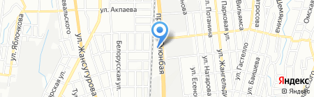 Bentley Almaty на карте Алматы