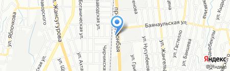 Maserati Almaty на карте Алматы