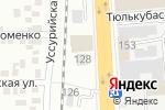 Схема проезда до компании Geely в Алматы