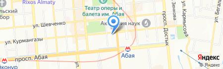 Imagine Web Solutions на карте Алматы