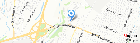 Участковый пункт полиции №92 Турксибского района на карте Алматы