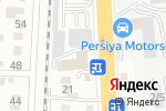 Схема проезда до компании Bentley Almaty в Алматы
