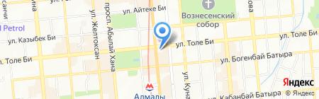 SoLuxe Hotel Almaty на карте Алматы