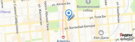 HAN на карте Алматы