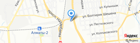 Flora Market на карте Алматы