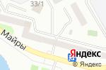 Схема проезда до компании Сеть платежных терминалов, Kaspi Bank, филиал в г. Павлодаре в Павлодаре