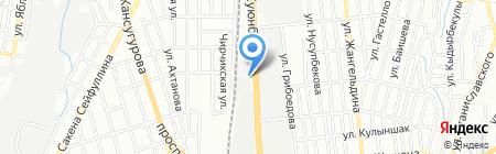 Maximum на карте Алматы