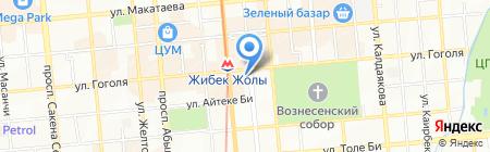 Принцесса на карте Алматы