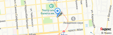HRG-Казахстан на карте Алматы