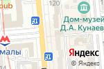 Схема проезда до компании Галилео в Алматы