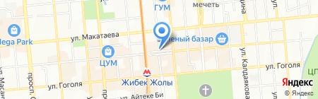 Fish & Chiken на карте Алматы
