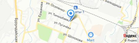 Nubira Asia на карте Алматы