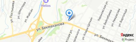 Феликс на карте Алматы