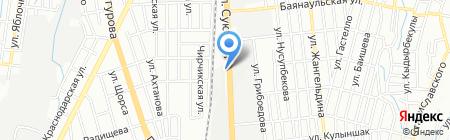 АЗС ЭЛЬДОРАДО 2005 на карте Алматы
