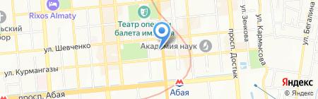 Алматы Оптика на карте Алматы