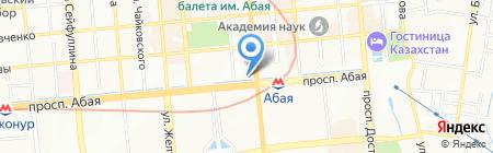 Ловец снов на карте Алматы