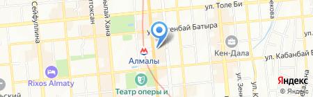ICOS на карте Алматы