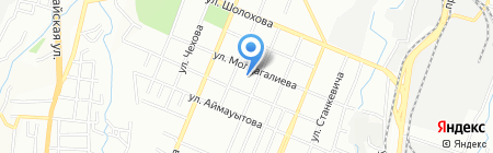 Гаухар на карте Алматы