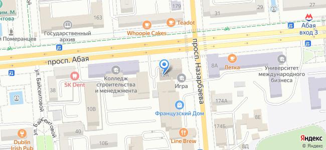 Казахстан, Алматы, проспект Абая, 10А