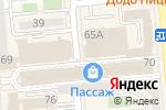 Схема проезда до компании Original Media Group в Алматы